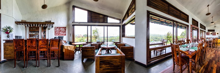 Panorama at the Heritage Resort Coorg