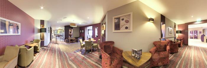 Panorama at the Premier Inn Edinburgh Park (The Gyle) Hotel