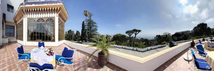 Panorama at the El Minzah Hotel