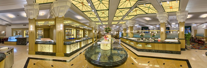 Panorama at the Okura Garden Hotel Shanghai