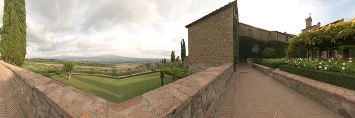 Panorama at the Castello Banfi - Il Borgo