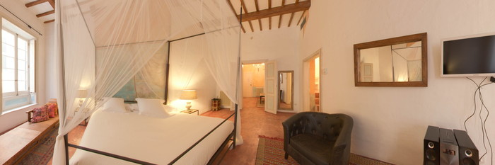 Panorama of the Sant Sebastia Two Bedroom Suite at the Hotel Tres Sants