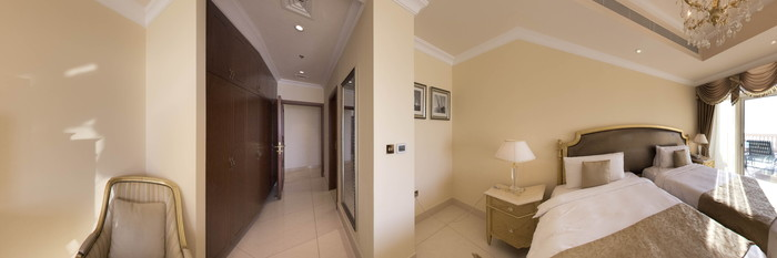 Panorama of the Second Superior Three Bedroom Penthouse at the Kempinski Hotel & Residences Palm Jumeirah