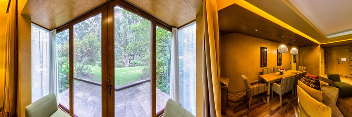 Panorama of the Senior Suite at the Tambo del Inka, a Luxury Collection Resort & Spa