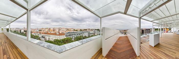 Panorama at the Tivoli Lisboa