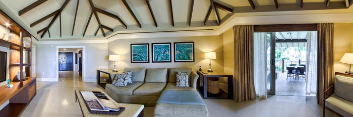 Panorama of the St Regis Suite at The St. Regis Bahia Beach Resort