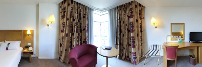 Panorama of the Standard at the Holiday Inn Madrid