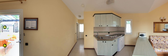 Panorama of the Standard 1 Bedroom Apartment at the Club Caleta Dorada