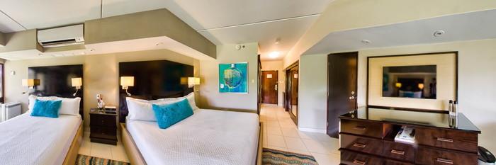 Panorama of the Standard Queen at the Bucuti & Tara Beach Resort Aruba