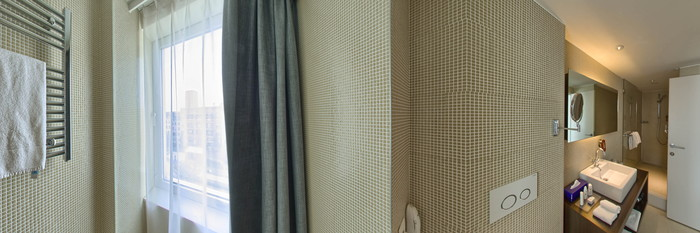 Panorama of the Standard Room at the Park Inn by Radisson Antwerpen