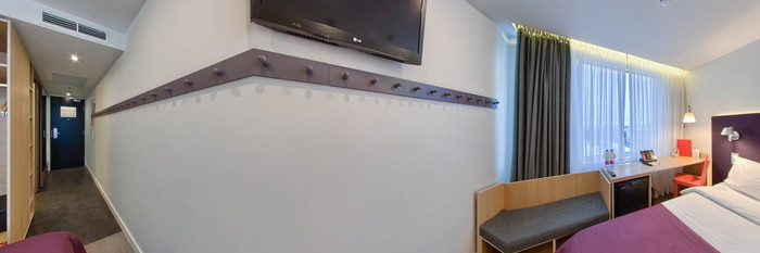 Panorama of the Standard Room at the Azimut Hotel Saint Petersburg