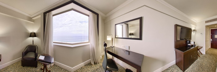 Panorama of the Standard Room at the JW Marriott Hotel Rio de Janeiro