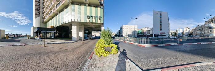 Panorama at the Herods Tel Aviv