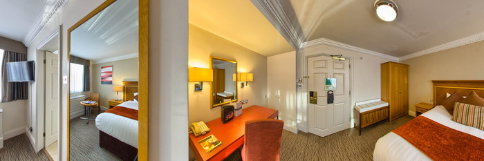 Panorama of the Suite at The St. John's Hotel