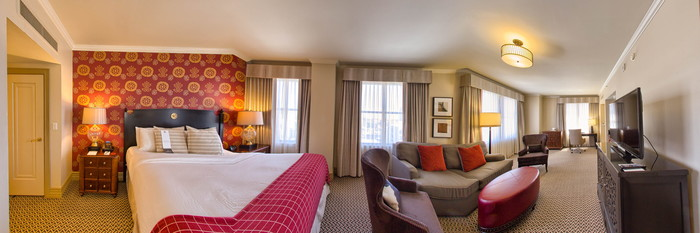 Panorama of the Suite at the InterContinental Stephen F. Austin