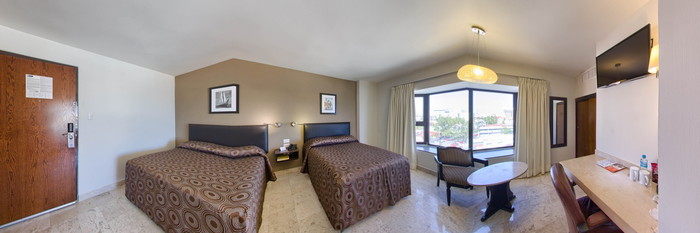 Panorama of the Superior Double Room at the Mar Y Tierra
