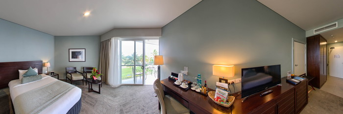 Panorama of the Superior Room at the Grand Pacific Hotel