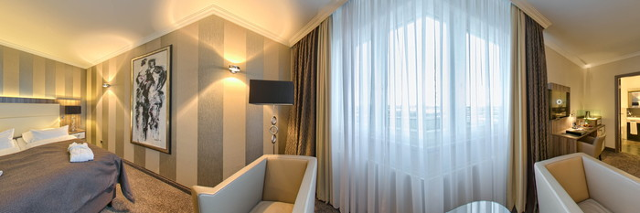 Panorama of the Superior Room at the BEST WESTERN PLUS Hotel Boettcherhof