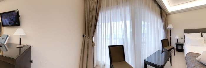 Panorama of the Superior Room (New Style) at the Grand Hotel Punta Molino