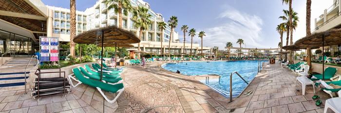 Panorama of the Swimming Pool at the U Magic Palace