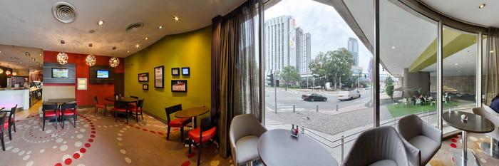 Panorama at the Leonardo City Tower Hotel