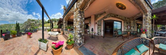 Panorama at the Hotel Villa Sonia