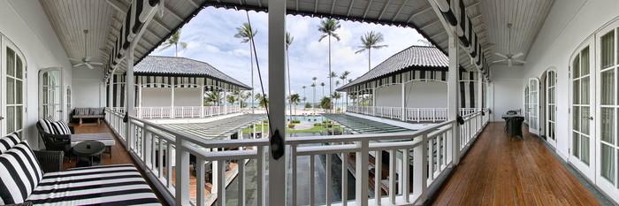Panorama of The Great House Veranda Suite Sea View at The Sanchaya