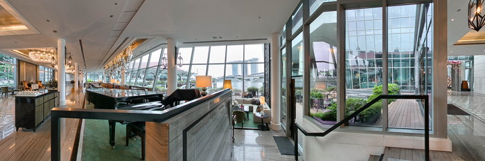 Panorama at The Fullerton Bay Hotel Singapore
