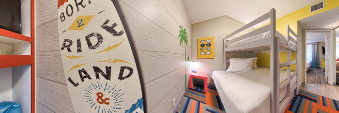 Panorama of the Three Bedroom at the Holiday Inn Resort Orlando Suites - Waterpark