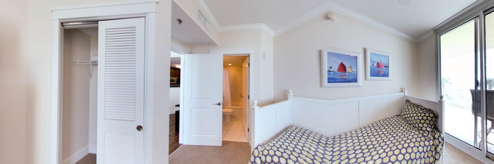 Panorama of the Three Bedroom Condo at the Waterscape Condominiums