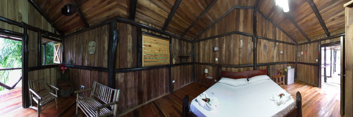 Panorama of the Tree House at the Hotel Kokoro Arenal