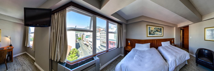 Panorama of the Twin Executive Suite at the Parliament Hotel