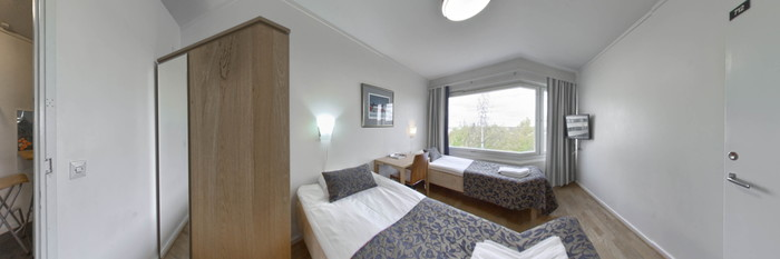 Panorama of the Two Bedroom Apartment at the Hotel AVA