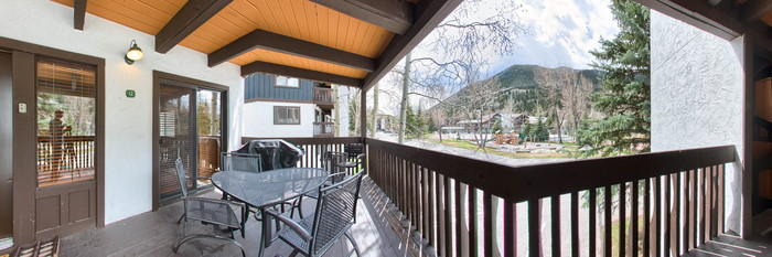 Panorama of the Two Bedroom Condo at the Vail Racquet Club Mountain Resort
