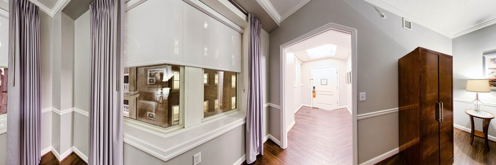 Panorama of the Two Bedroom Suite at The Georgian Terrace Hotel