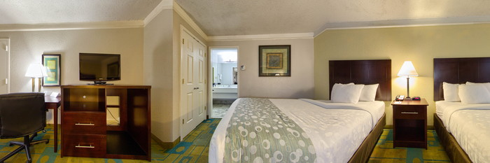 Panorama of the Two Double Beds at the Quality Inn