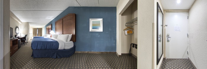 Panorama of the Two Queen Beds at the Quality Inn & Suites