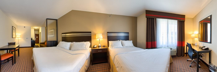 Panorama of the Two Queen Suite at the Holiday Inn Express & Suites Denver West - Golden