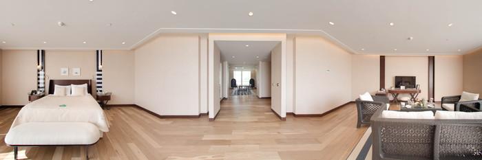 Panorama of the Wellness Suite at the Rixos Premium Gocek