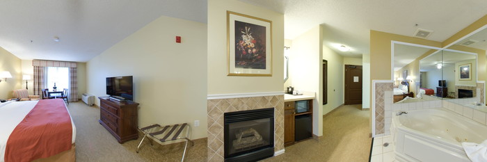 Panorama of the Whirlpool Suite at the Country Inn & Suites By Carlson, Annapolis