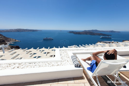 The Pool at the Lilium Villas Santorini (108565805)