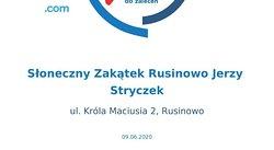 Sloneczny Zakatek Rusinowo Jerzy Stryczek