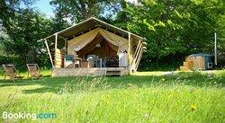 Safari Tents at Le Ranch Camping