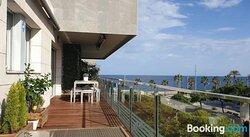 Habitacion double. Piscina, terraza vistas del mar