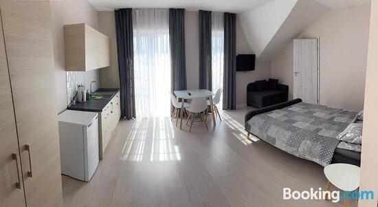 Communal kitchen - Ảnh về Apartamentai Klaipeda - Tripadvisor