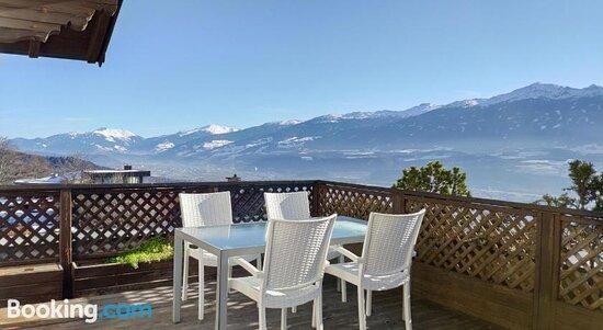 Mountain view– Aufnahme von Alpendohle Apartments Innsbruck - Tripadvisor