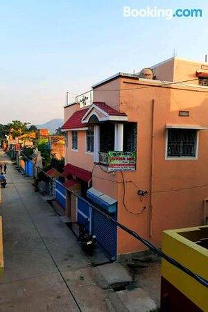 Lounge or bar – Billede af Sukhanir Home Stay, Jhalida - Tripadvisor