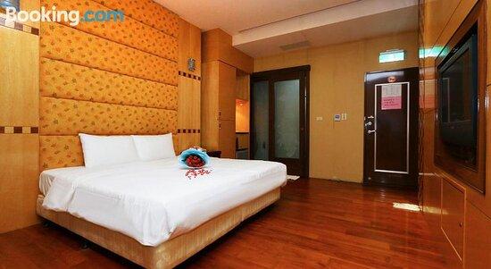 Foto de Charming Motel, Hualien City: Bed - Tripadvisor