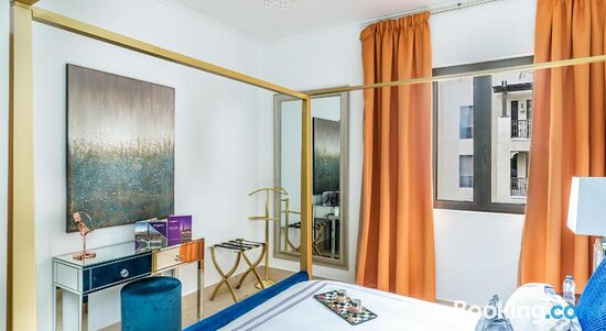 Living room - Ảnh của Dream Inn Apartments - Arabian Old Town, Dubai - Tripadvisor