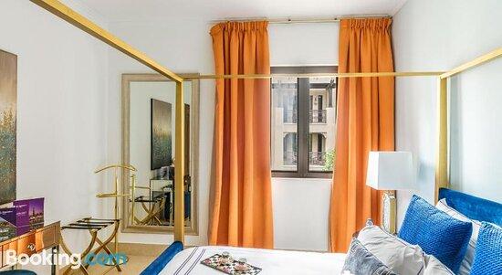 Living room – Bild von Dream Inn Apartments - Arabian Old Town, Dubai - Tripadvisor